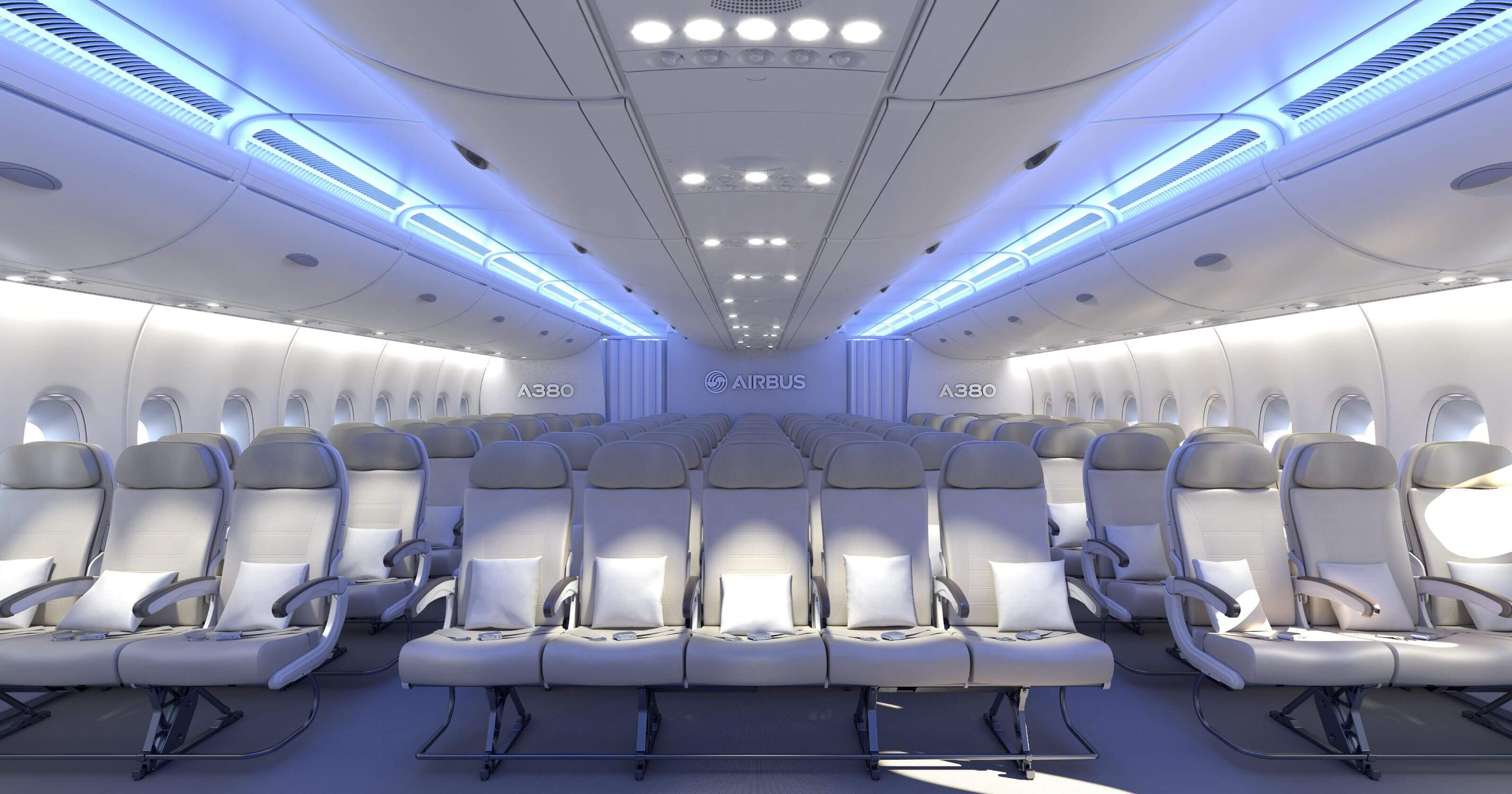 Why 11 seats abreast will not work for the airbus a380 for Interieur avion ryanair