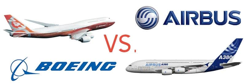 boeing and airbus Hace 1 día boeing sold 43 aircraft versus 25 for airbus combined value is $7b, 60% of the value goes into boeing's book year-to-date boeing continues to have a.