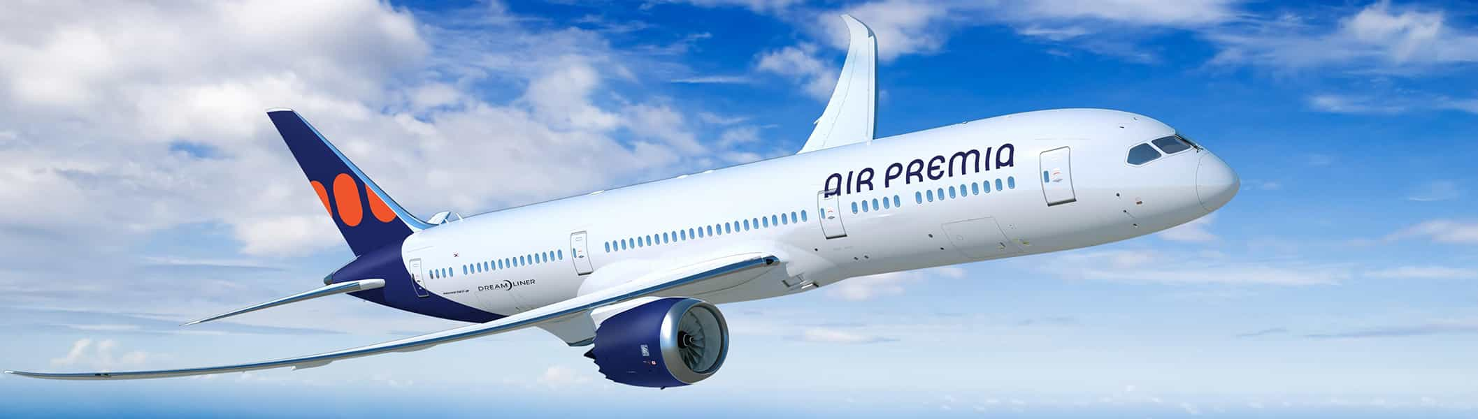 Air Premia Commits To Five Boeing 787 Dreamliners