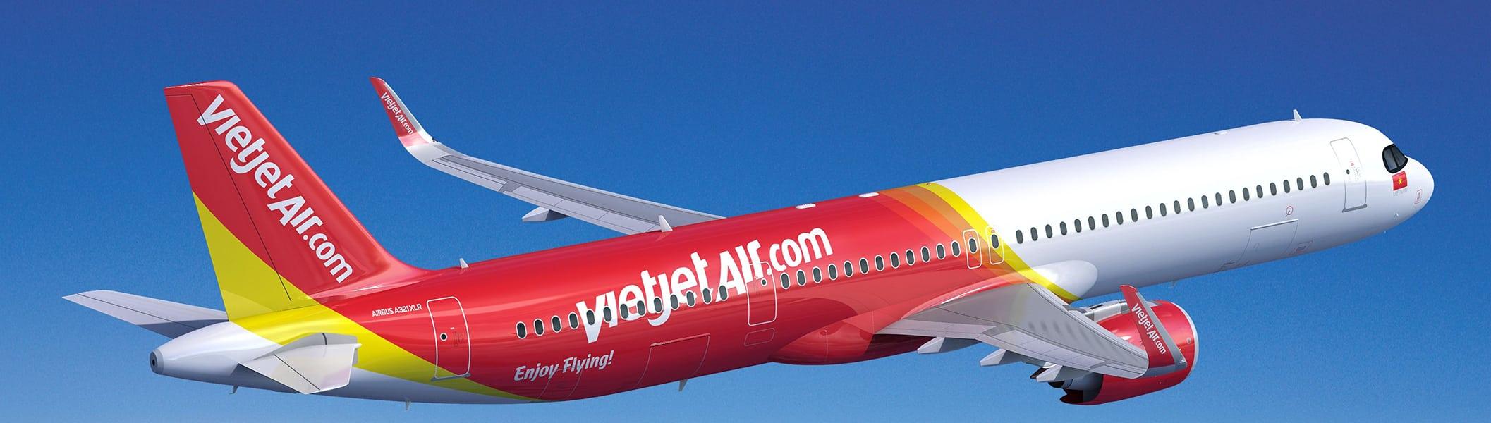 Vietjet orders Airbus A321XLR