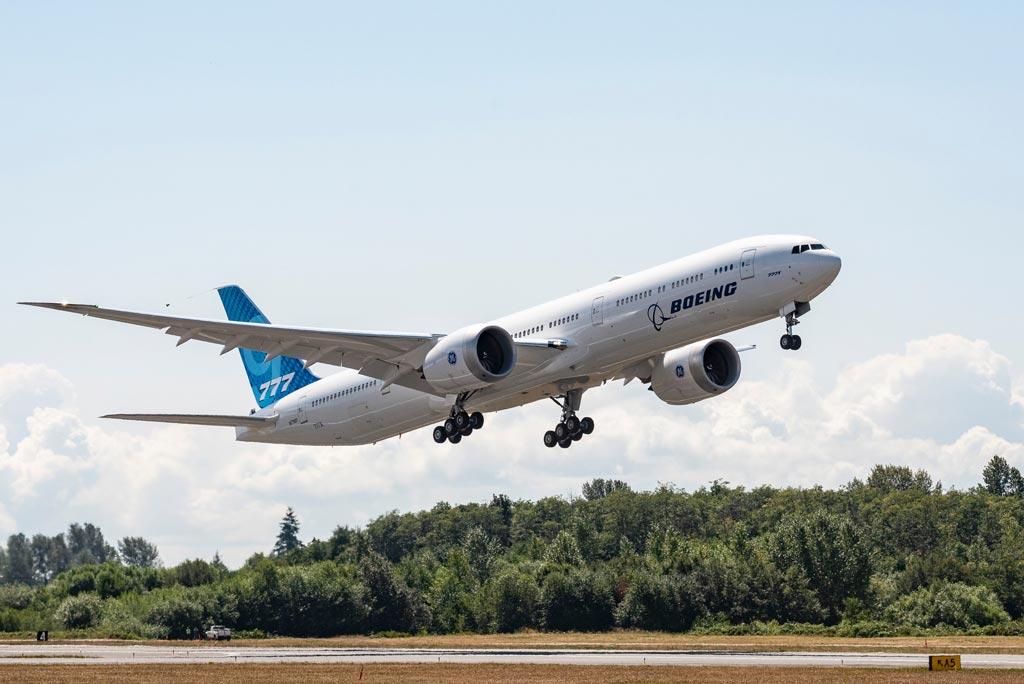 Boeing 777X Flight Test Program